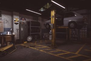 Everybody&039;s Gone to the Rapture, In game, CryEngine, Garage, Workshop