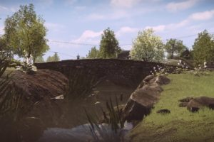 Everybody&039;s Gone to the Rapture, In game, CryEngine, Bridge