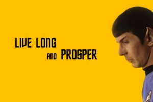 Spock, Star Trek, Live Long And Prosper