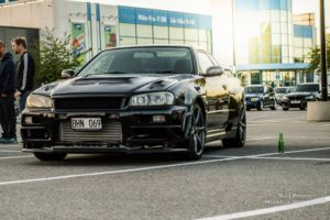 Nissan, Skyline, Nissan Skyline R34, Black Pearl, Nissan Skyline GT R R34