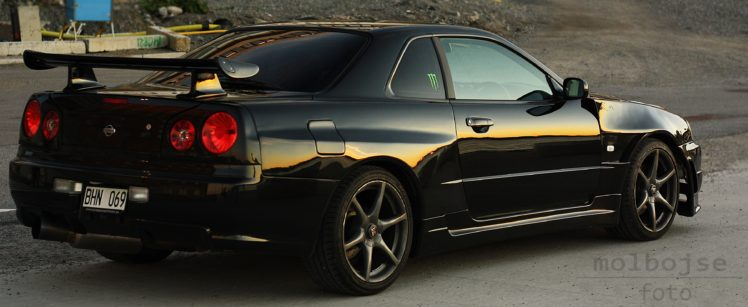 Nissan Skyline R34 Nissan Skyline Black Pearl Nissan