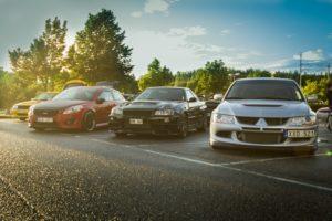 Nissan, Skyline, Nissan Skyline R34, Nissan Skyline GT R R34, Black Pearl, Lancer Evolution VIII