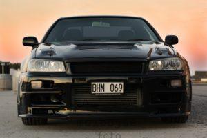 Nissan, Skyline, Nissan Skyline R34, Nissan Skyline GT R R34, Black Pearl