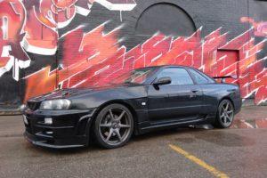 Nissan, Skyline, Nissan Skyline GT R R34, Black Pearl