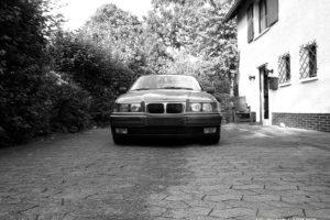 BMW, BMW E36, Monochrome