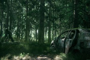 The Last of Us, Part II, Apocalyptic, Video games, Forest
