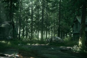 Ellie, Joel, The Last of Us, Part II, Apocalyptic, Video games, Forest