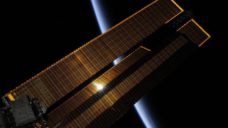 International Space Station, Space, Earth HD Wallpaper Desktop Background