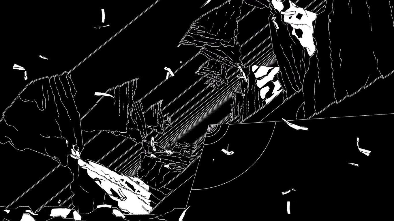 LORN, Anvil, Black, White, Contrast, Music Wallpaper