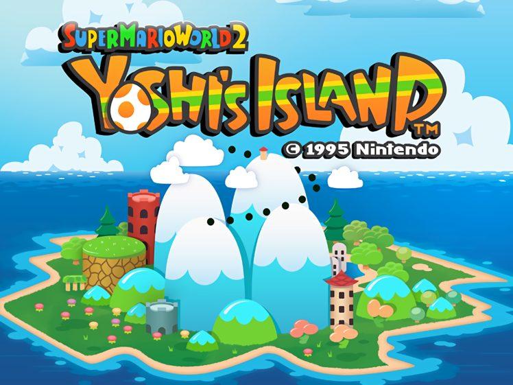 Yoshi Super Mario Yoshi 039 S Island Super Mario World 2 Video