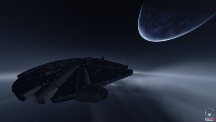 Star Wars Millennium Falcon Hd Wallpapers Desktop And Mobile Images Photos