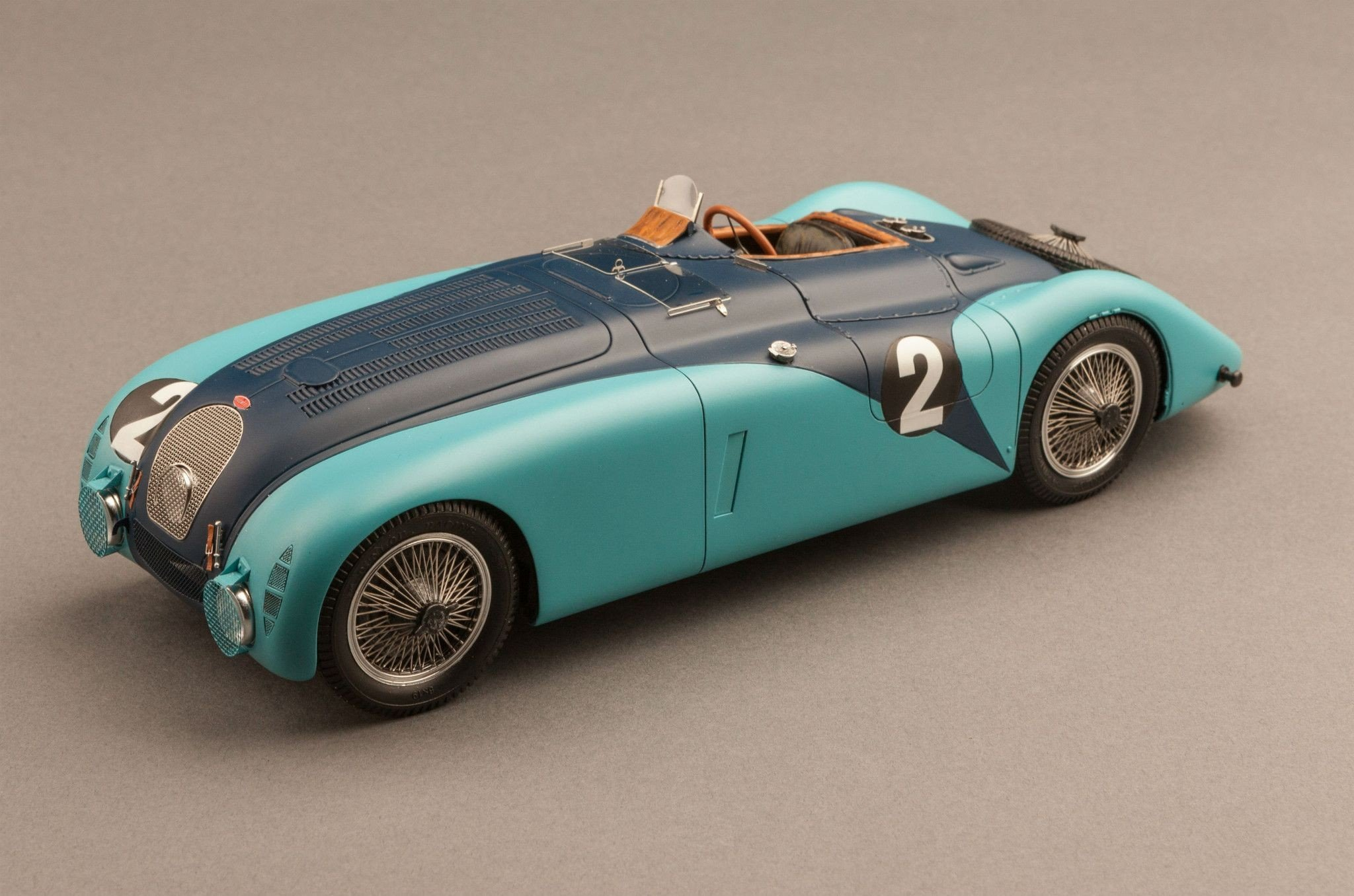 Vehicle, Car, Blue Cars, Bugatti, Bugatti T57G, Miniatures