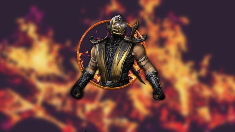 Scorpion (character), Mortal Kombat X, Video games HD Wallpaper Desktop Background