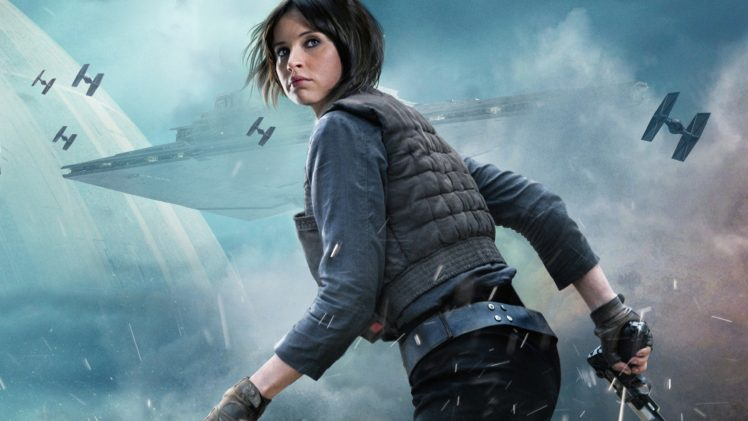 Felicity Jones Rogue One A Star Wars Story Movies Hd Wallpapers Desktop And Mobile Images Photos
