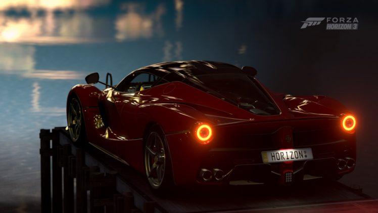 forza horizon 3, Video games, Ferrari HD Wallpaper Desktop Background