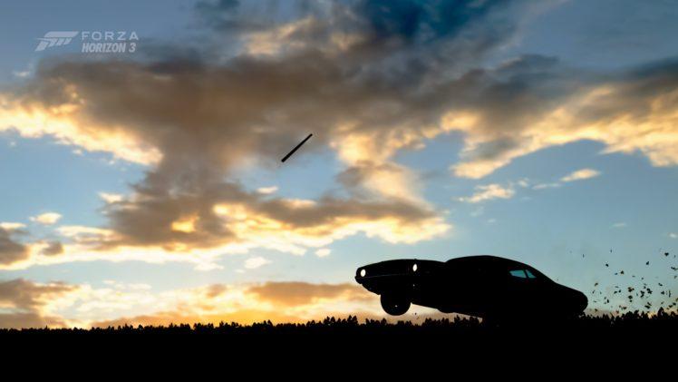 forza horizon 3, Video games, Dodge Challenger HD Wallpaper Desktop Background