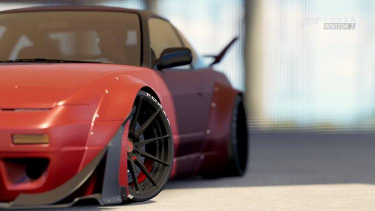 Forza Horizon 3 Video Games Nissan 240sx Hd Wallpapers