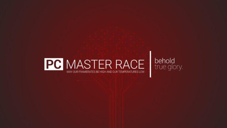 PC Master  Race, Video games HD Wallpaper Desktop Background