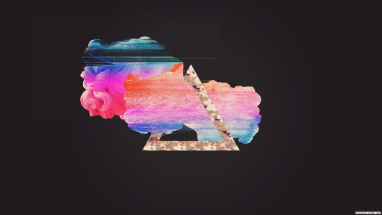 Glitch Art Vaporwave Abstract Hd Wallpapers Desktop And