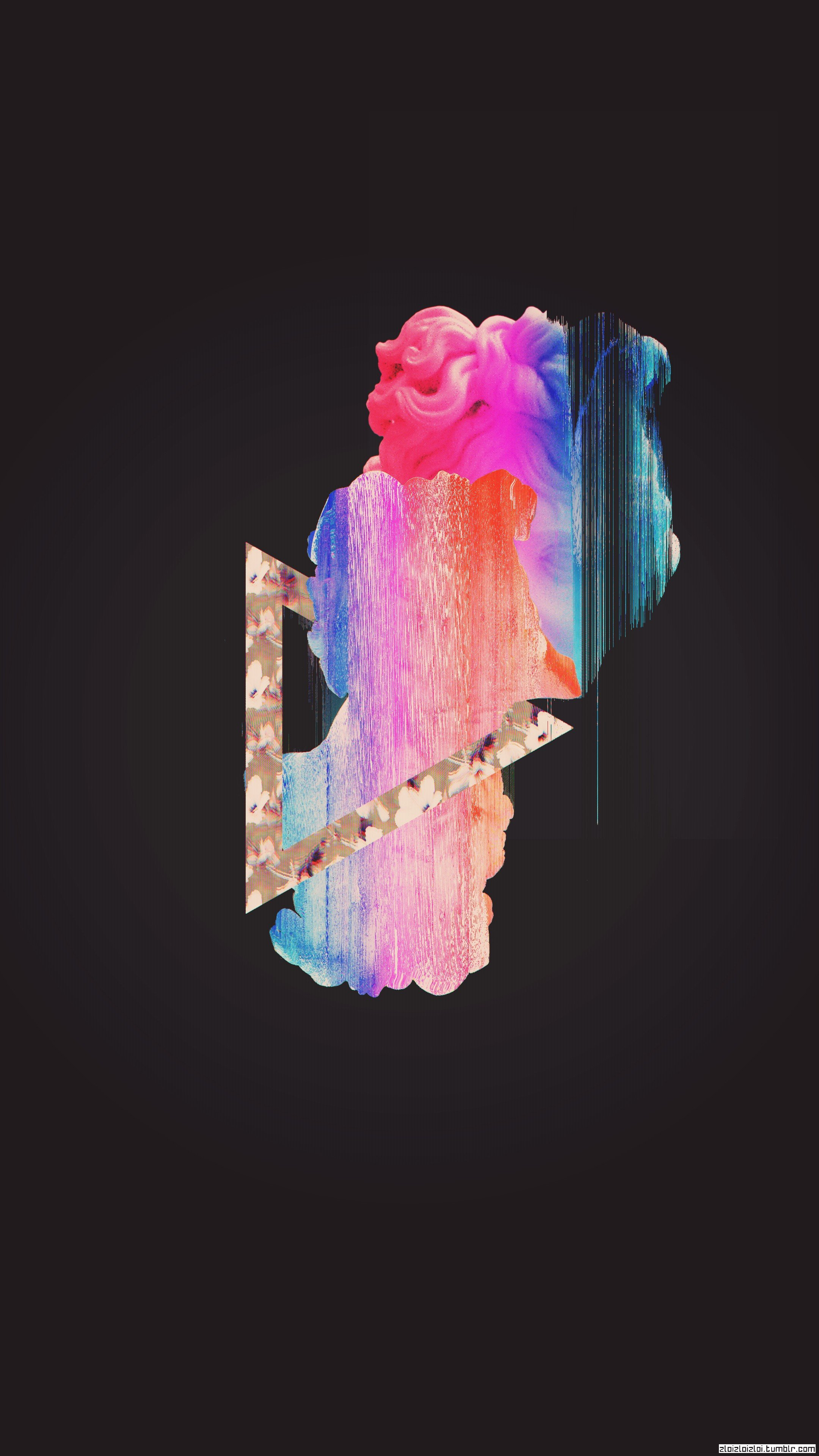 Glitch Art Vaporwave Abstract Hd Wallpapers Desktop