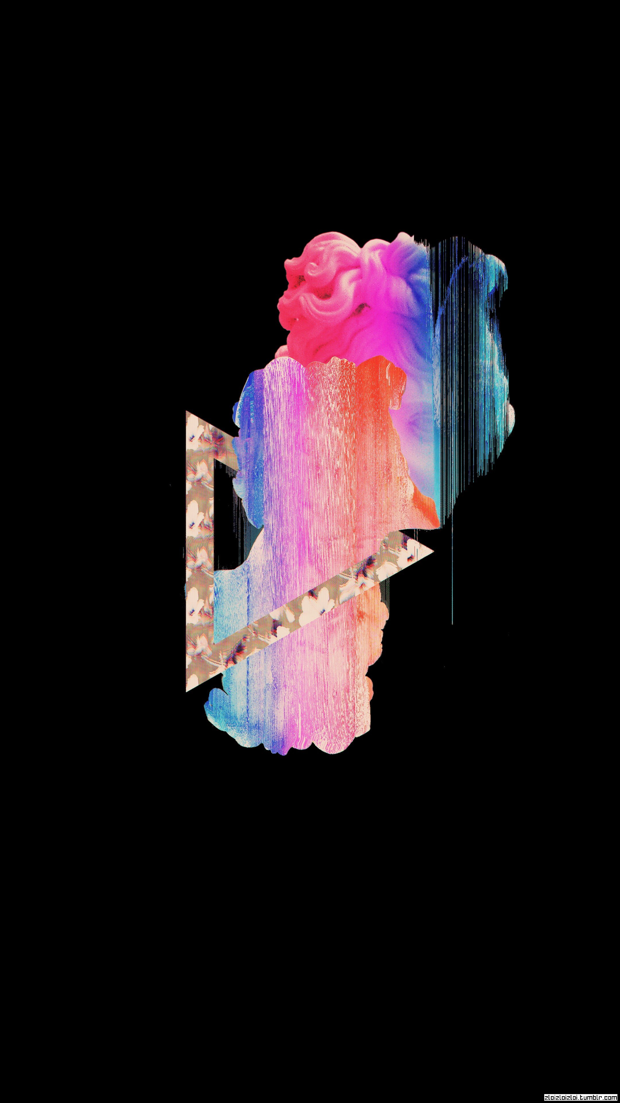 glitch art, Black, Abstract, Vaporwave HD Wallpapers ...