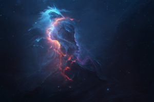Starkiteckt, Space, Digital art, Space art, Nebula