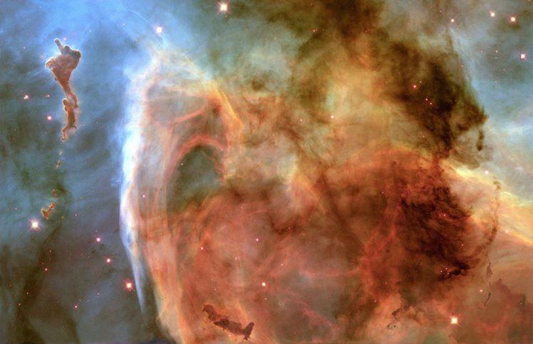 nebula, NASA, Space, Colorful, Stars HD Wallpaper Desktop Background