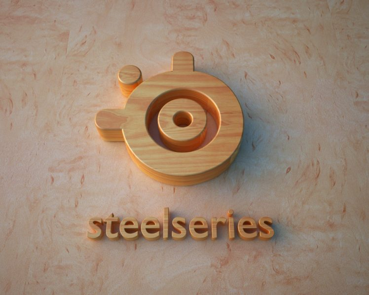 SteelSeries, 3D, Logo HD Wallpaper Desktop Background