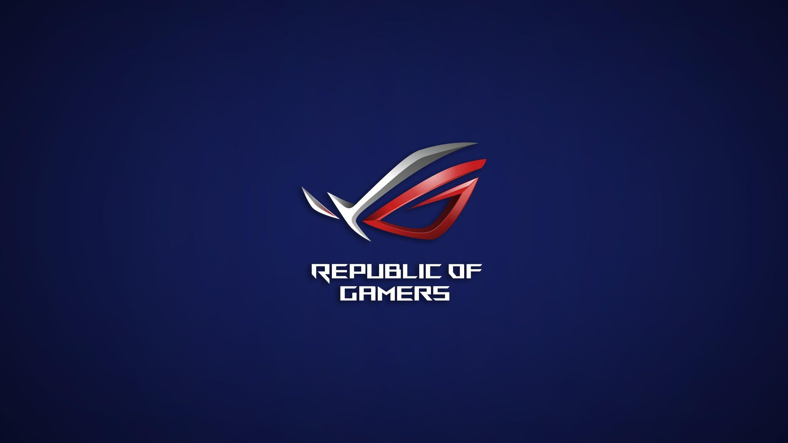 Republic Of Gamers, Logo, ASUS HD Wallpapers / Desktop And