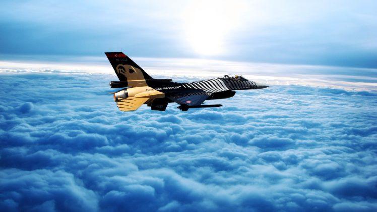 General Dynamics F 16 Fighting Falcon Hd Wallpaper: Turkish Air Force, SoloTurk, General Dynamics F 16