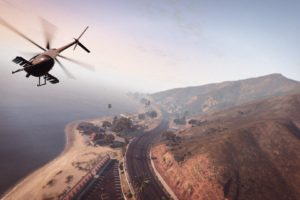 Grand Theft Auto V, Grand Theft Auto Online, Helicopters, Highway, Rockstar Games, Map, Mountains
