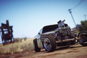 Grand Theft Auto V, Grand Theft Auto Online, Rockstar Games, Rat Rod, Vehicle, Desert