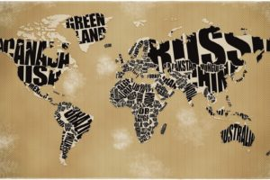map, Geography, World map
