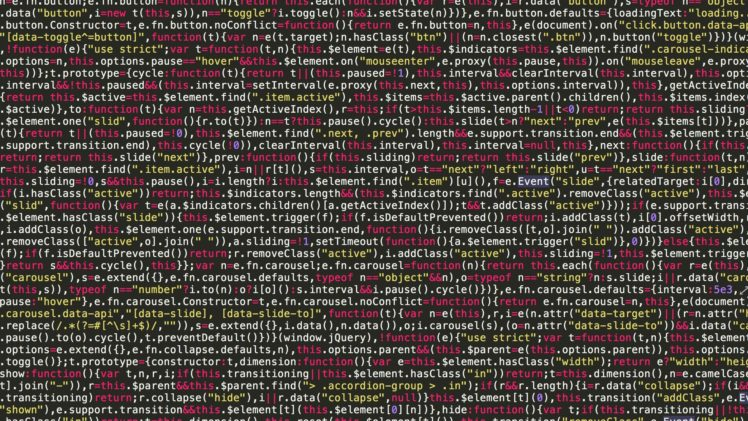 Digital Art Minimalism Code Text HTML Color Codes JavaScript