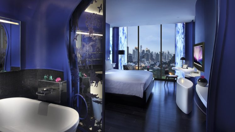 Modern interior designs for hotels decor