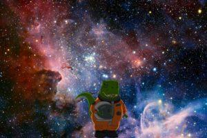 astronaut, Dinosaurs, Space, Tyrannosaurus rex, Family Guy