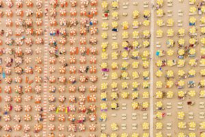 beach, Italy, Aerial view
