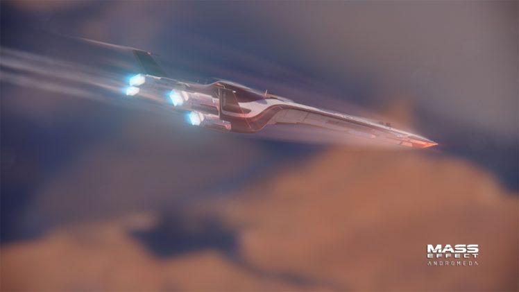 Mass Effect: Andromeda, Mass Effect, Andromeda Initiative, Tempest HD Wallpaper Desktop Background