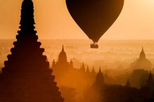 hot air balloons, Thailand, Gemini