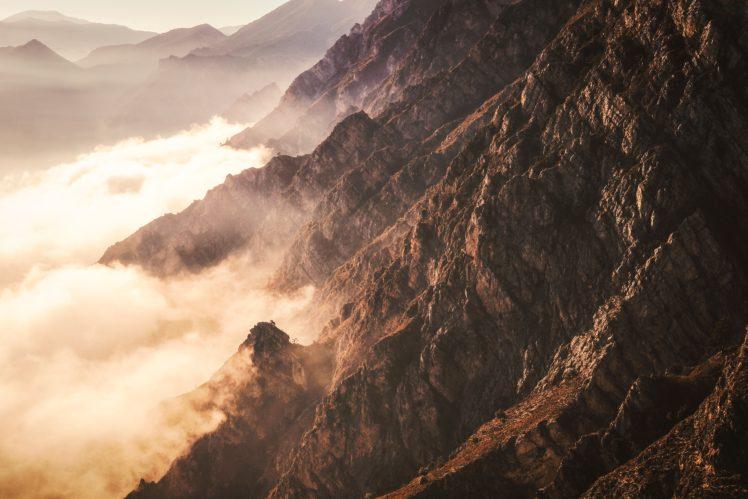 nature, Rock, Clouds HD Wallpaper Desktop Background