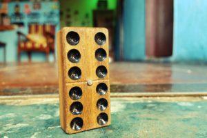 Dominoes, Wood
