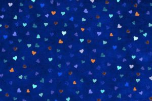 heart, Digital art, Pattern, Blue background, Minimalism, Checkered