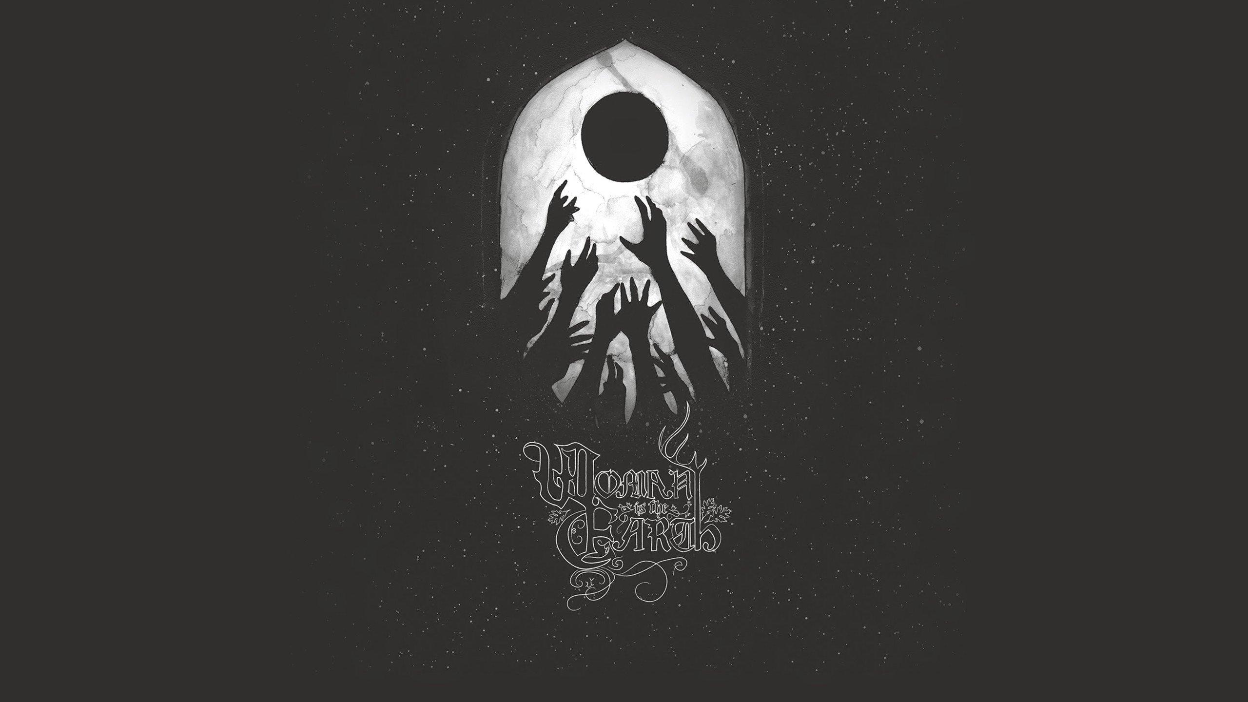 Hands, Black Metal, Metal Music, Simple Background, Woman