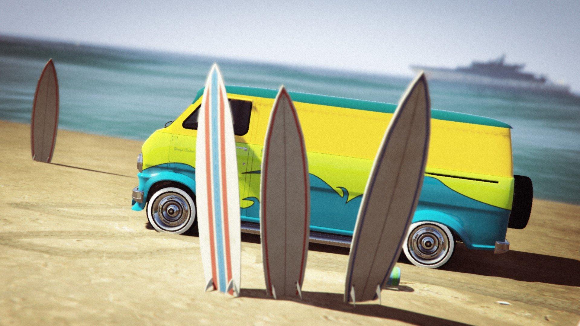Grand Theft Auto V Grand Theft Auto Online Vans