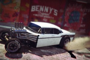 Grand Theft Auto V, Grand Theft Auto Online, Rockstar Games, Rat Rod, Vehicle, Garages, Graffiti
