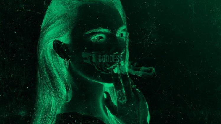 Cara Delevingne, Women, Abstract, Photoshop, Photography HD Wallpaper Desktop Background