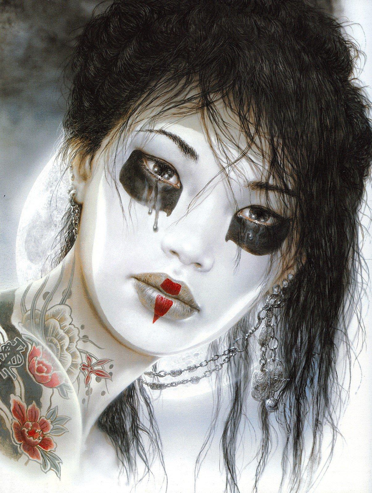 Luis Royo, Women, Dead Moon, Fantasy art, Tattoo HD ...