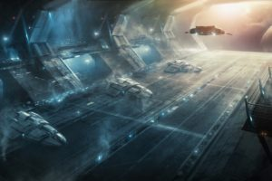 stellaris, Spaceship