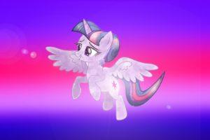 Twilight Sparkle, Princess, My Little Pony, Crystal, Wings