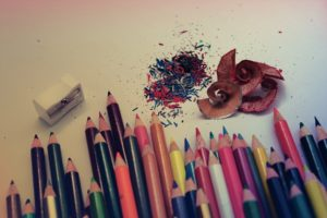 pencils, Colorful